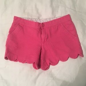 Lilly Pulitzer Pink Buttercup Shorts